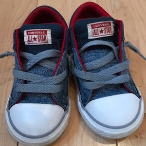 Converse all star baby boys sneakers size 7